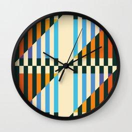 rhomboid friends Wall Clock