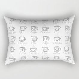 Hot Drinks Rectangular Pillow