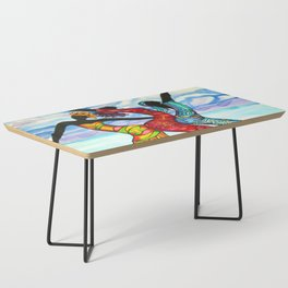 Let's Dance Belize Coffee Table
