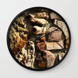 Texture 12 Wall Clock
