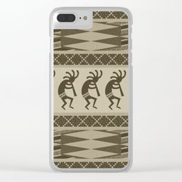 Southwest Kokopelli Clear iPhone Case
