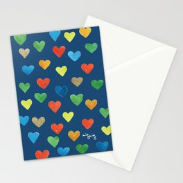 hearts hearts hearts Stationery Cards