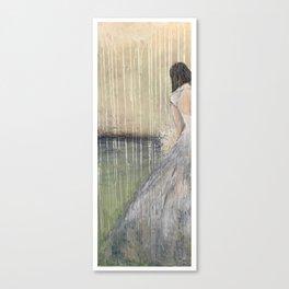 Bouquet Meditation Canvas Print