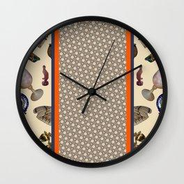 Forbidden City Vase Wall Clock