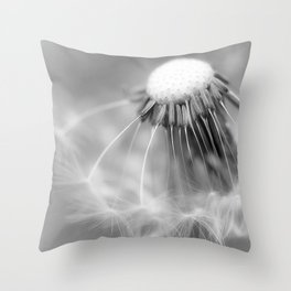 Dandelion Whispers Throw Pillow