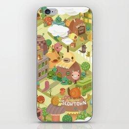 Slowtown iPhone Skin