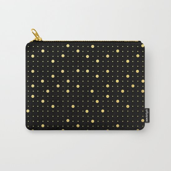 Pin Points Gold Carry-All Pouch
