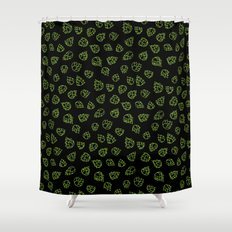 Hopcone Pattern Shower Curtain
