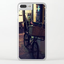 Bakers Bike Clear iPhone Case