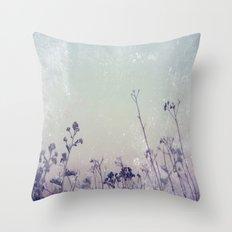 Landscape 1 (blue tones) Throw Pillow