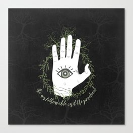 Adam, The Magician - The Raven Cycle Canvas Print