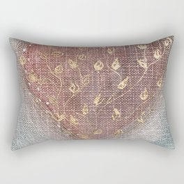 Blossoming Love Rectangular Pillow