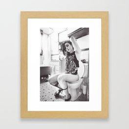 Stripper Cunt - Full Image Framed Art Print