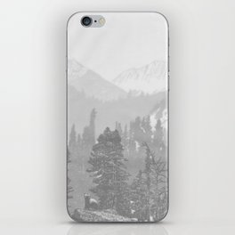 Bear in the mountains iPhone Skin