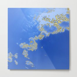 Orencyel : sky gazing before this golden melody Metal Print