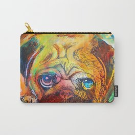 Pop Art Pug Carry-All Pouch