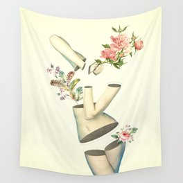 Think Too Much Wall Tapestry