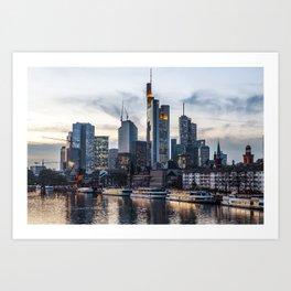 Frankfurt 2 Art Print