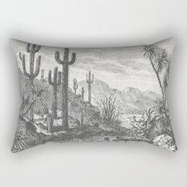 Cactus in Mountain Rectangular Pillow
