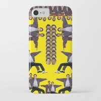 seinfeld iPhone & iPod Cases featuring Jerry Seinfeld and his Wacky Neighbor Cosmo Kramer by jonbutter
