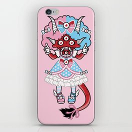 Eye Am Kawaii Krampus iPhone Skin