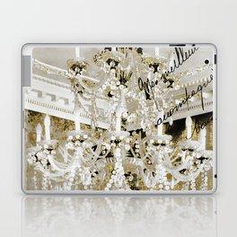 Crystal Pearls Chandelier Paris Laptop & iPad Skin