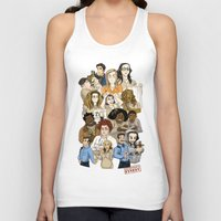 oitnb Tank Tops featuring Daya, Bennet, & Pornstache OITNB by StephDere