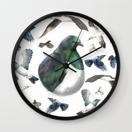 Bird Bonanza Wall Clock
