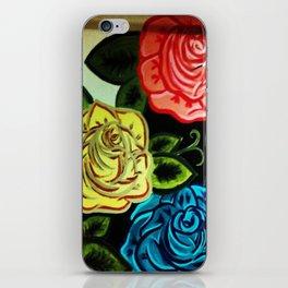 Rose Mural (Part One) iPhone Skin