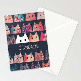 cat-123 Stationery Cards