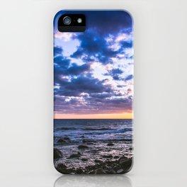 Sunset rock landscape iPhone Case