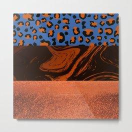 Urban Jungle - Pattern Mix Metal Print
