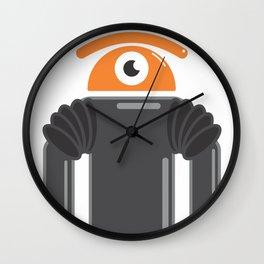 eye robot Wall Clock