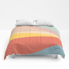 Retro Abstract Geometric Comforters