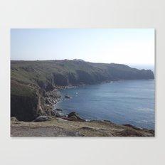 Along The Cliff Edge! Canvas Print