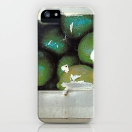 Lime Truck iPhone Case