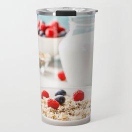 healthy breakfast Travel Mug