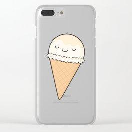 Ice Cream Clear iPhone Case