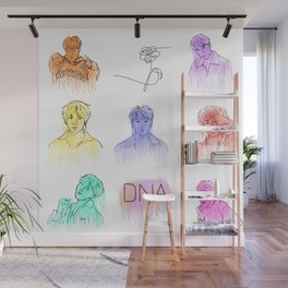 BTS- DNA Wall Mural