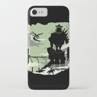 shadow of the colossus iPhone & iPod Cases featuring Silhouette of the Colossus by Piercek25