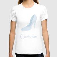 cinderella T-shirts featuring Cinderella by Citron Vert