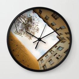 Hinterhof 74 Wall Clock