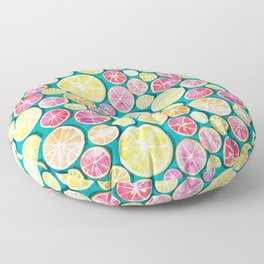 Citrus bath Floor Pillow