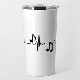 MUSICAL HEART BEAT Travel Mug