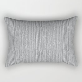Glacier Gray Wood Grain Texture Color Accent Rectangular Pillow