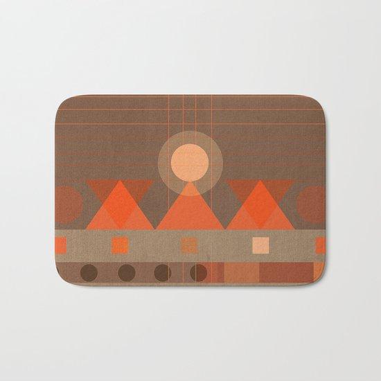 Geometric/Abstract 11 Bath Mat