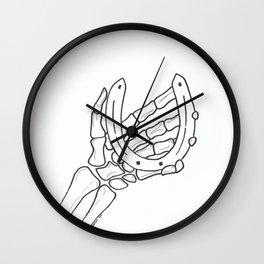 Hand of Luck Wall Clock