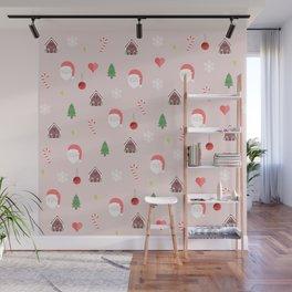 Christmas pattern Wall Mural