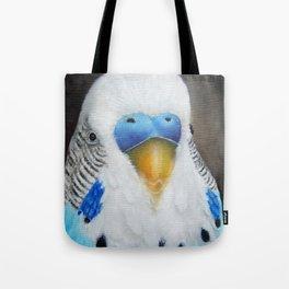 Proud Parakeet Tote Bag