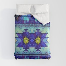 Native American Colorful Geometry Pattern Comforters